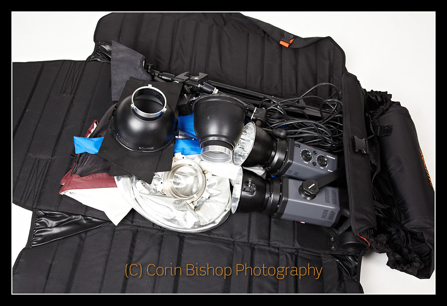 Stokke Prambag used to lug photo gear - Corin Bishop Photography