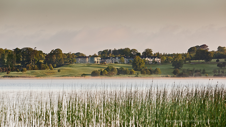 weddings at glasson golf club, view over the lake