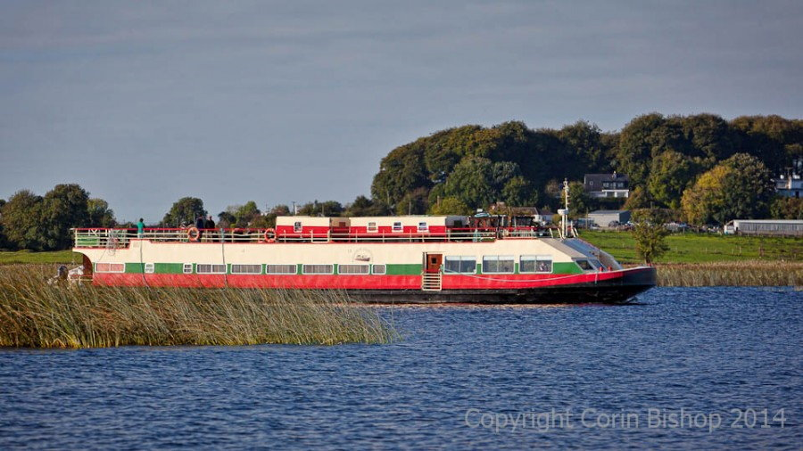 The Shannon Princess on the river Shannon