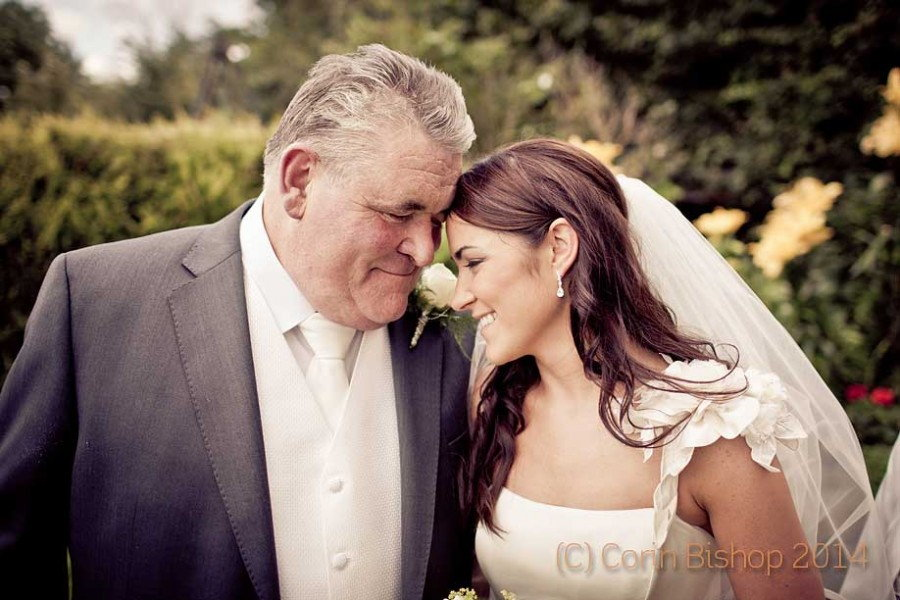 Summer wedding at Middle Park House Mullingar. Wedding photographer Corin Bishop.