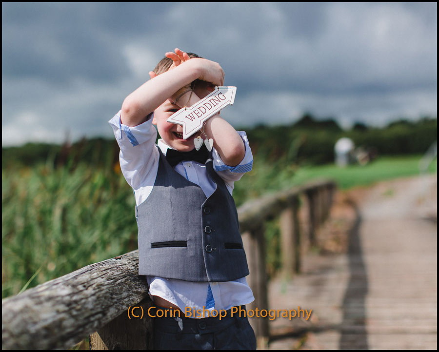 Shoot for wedding invites - Glasson Running
