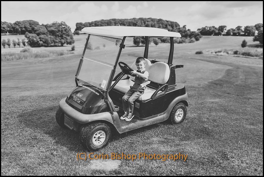 Shoot for wedding invites - Glasson Golf Buggy