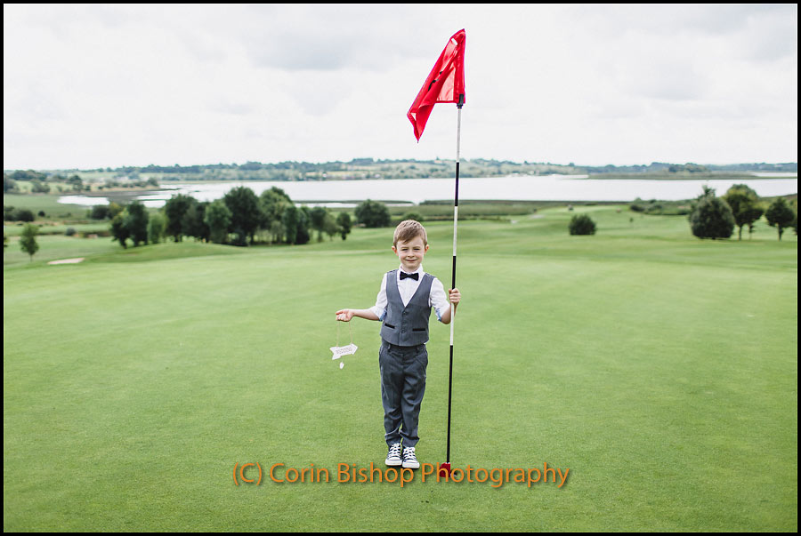 Shoot for wedding invites - Glasson 18th Hole