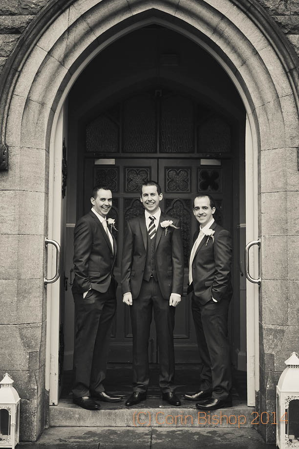 The Groomsmen - Castleknock Hotel Wedding