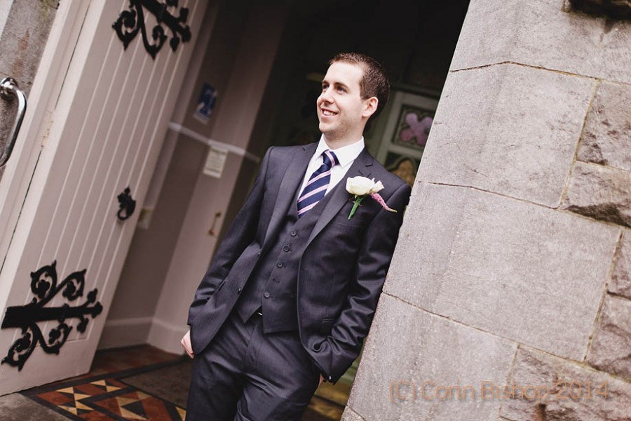 The Groom - Wedding at Castleknock