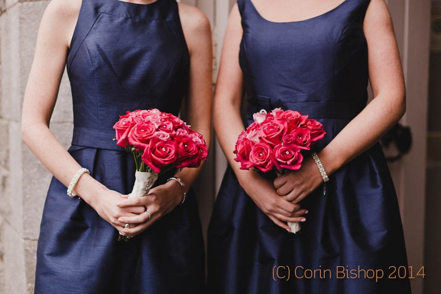 Flower and Bridesmaids Dresses