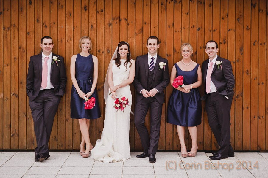 Bridal Party Castle Hotel Wedding