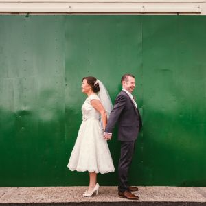 Sligo Enniscrone Diamond Coast Wedding Vintage Style