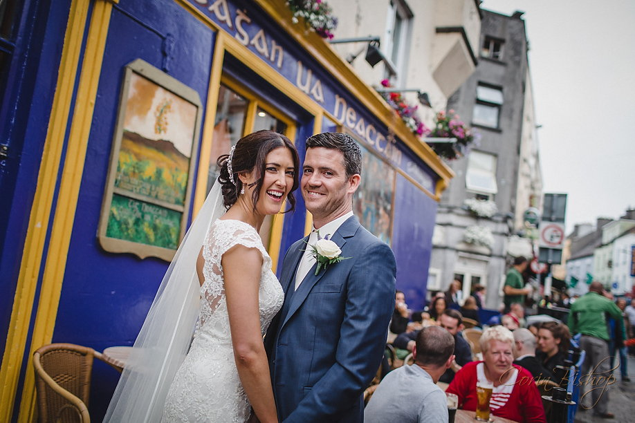 Claddagh Salthill Hotel Wedding by Westmeath Photographer Corin Bishop